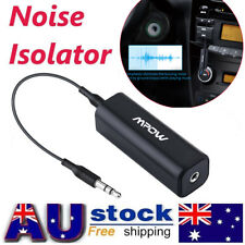 MPOW Ground Loop Noise Isolator for Car Audio System Home Stereo 3.5mm BP AU