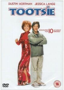 Tootsie DVD Dustin Hoffman Jessica Lange Original UK Release Brand New Sealed R2
