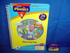 Leap Frog Pad PHONICS RAINY DAY PLAY Book/Cart Lesson 8