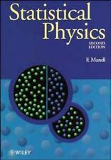 Manchester Physics: Statistical Physics 14 by Franz Mandl (1991, Paperback, Rev…