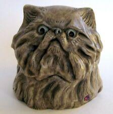MPS Harmony Kingdom: Pot Bellys - Small Cat Box Figurine - February 2 - Aquarius