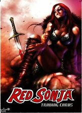 RED SONJA TRADING CARD EXCLUSIVE SAN DIEGO COMIC CON (SDCC) PROMO CARD 2012