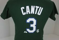 cde227c1 VINTAGE TAMPA BAY DEVIL RAYS JORGE CANTU #3 MAJESTIC MLB JERSEY T-SHIRT  YOUTH