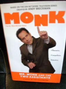 Mr Monk and the Two Assistants 2007 hardcover DJ 1st edition Lee Goldberg