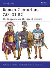 Osprey Men at arms 470: Roman Centurions 753–31 BC (Römische Legion) / NEU