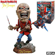 "NECA ""Iron Maiden 7"" Eddie Trooper Head Knocker, Action Figure, 7.0"""