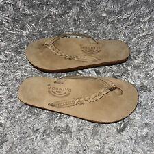 RAINBOW Strap Flip Flop Sandals sz LM 7-7.5
