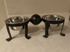 Jan Barboglio small ballin' pet bowls