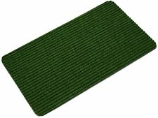 Green Inside Outside Door Mat Polypropylene Front Back Step Doormat  70x40cm