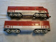 Lionel LPO#112-2245 Texas Special F3 A-B Diesel - Locomotives  0 Scale