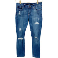 Lucky Brand Women Jeans, Lolita Skinny Distressed Ripped Ankle Denim, Size 8
