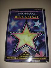 GLOW IN THE DARK SUPERSTARS MEGA GALAXY, OVER 200 GLOW STARS, ILLUMINATIONS!