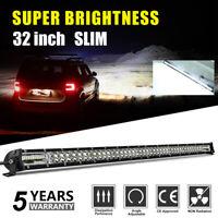 """32"""" LED phare de travail light bar Feux rampe de toit barre de 4x4 offroad 4WD"""