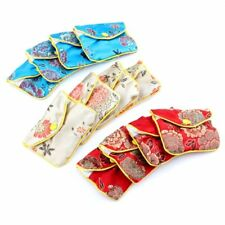 12 x Jewellery Jewelry Silk Purse Pouch Gift Bag Bags HOT K4R0