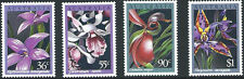 1986 Australian Native Orchids Complete Set of Stamps:Muh