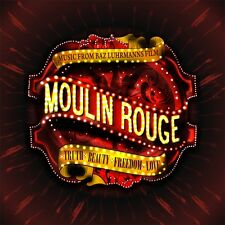 MOULIN ROUGE ( NEW CD ) MUSIC FROM THE BAZ LUHRMANN ORIGINAL FILM SOUNDTRACK
