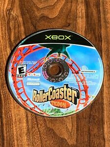 RollerCoaster Tycoon Disc Only (Microsoft Xbox, 2003)