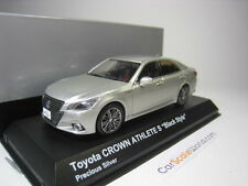 TOYOTA CROWN HYBRIDE ATHLÈTE S BLACK STYLE 1/43 KYOSHO (PRÉCIEUX ARGENT)