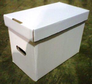 24 New CSP High Quality Magazine Cardboard Storage Box 15 x 8.75 x 11.5