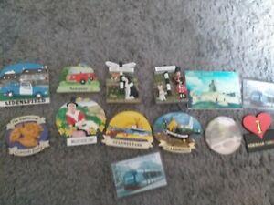 Fridge magnets bundle joblot x13 UK tourist pieces