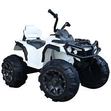 HOMCOM  Voiture 4x4 quad buggy électrique 103L x 68l x 73H cm enfants 3 à 8 ans