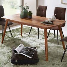 WOHNLING Esszimmertisch WL5.572 Holz 120x77x60 cm Sheesham Küchentisch Modern