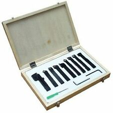 "12mm (1/2"") -9Pce Indexable Tip Metal Lathe Tool Set, Turning Boring Threading"