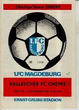OL 88/89 1. FC Magdeburg - HFC Chemie