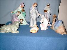 Avon Bethlehem Nativity Collection glazed porcelain 1992-1994