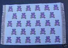 1:12 Scale Blue Woven Nursery Teddy Dolls House Miniature Carpet Mat Accessory