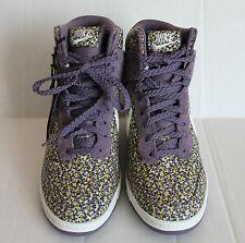 Women's Nike Dunk Sky Hi Liberty , Floral Purple - Size US 6.5