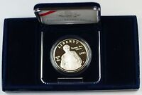 2004 Thomas Edison Proof Silver Dollar Commem. Coin in Original Mint Packaging