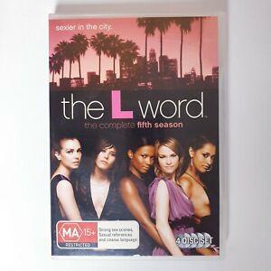 The L Word Season 5 TV Series DVD Region 4 AUS Free Postage Drama