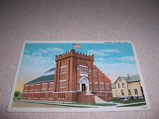 1910s NATIONAL GUARD ARMORY BUCYRUS OHIO ANTIQUE POSTCARD