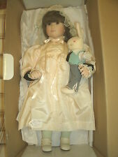 """BROOKE"" BEAUTIFUL 20"" PORCELAIN DOLL BY JAN HAGARA...TOP NOTCH   WELL MADE."