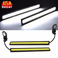 "2x Super Bright White 5.5"" Car COB LED Light DRL Fog Driving Lamp Waterproof 12V"