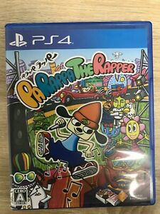 Parappa The Rapper Sony Playstation 4 PS4 Video Games  From Japan Tracking# USED