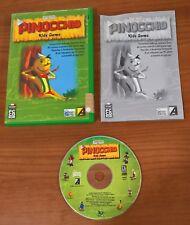 PINOCCHIO KIDS GAME PC -COMPLETO