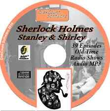 Sherlock Holmes - Stanley & Shirley 39 Old Time Radio OTR MP3 audio CD