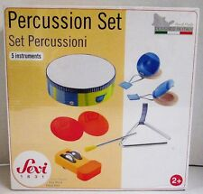 Sevi Percussion Instrument Toy Set 8 Piece (NEW)