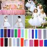 """6""""/100Y Tissue Tulle Roll Spool Tutu Craft Wedding Birthday Party Xmas Decor"""