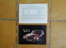 MANUEL DE L'AUTOMOBILISTE JAGUAR XJ 3,4 et 4,2 SERIE 2.(Français)+/- 1977.TBE.