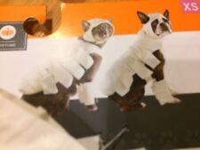 NEW Size XS X-Small  * MUMMY *  Dog Halloween Costume Pet Cat 4 PIECE UP TO 10LB
