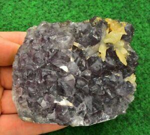 Amethyst Cut Base Standing Ornament Quartz Geode Cluster ON SALE!! UKBUY #16B1