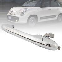 Maniglia Per Porta Esterna Cromato Lato Sinistra Guida Per Fiat 500 ITALIA