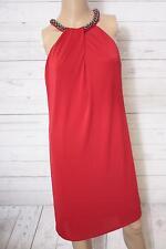 ESPRIT Collection Damen Neckholder Kleid mit Stretch, Knielang, Gr. 36/S