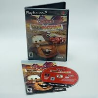 Cars Mater-National Championship PlayStation 2 PS2 Complete Disney Pixar Tested