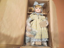 Boyds Bears Porcelain ERIN LEMONADE FOR TWO  Limited Edition Doll 4915