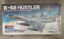 Vintage Monogram B-58 Hustler Strategic Air Command Delta-Wing Bomber 5704 1/48