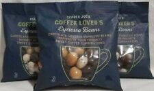TRADER JOE'S COFFEE LOVER'S ESPRESSO BEANS CHOCOLATE COVERED 3 PACKS KOSHER